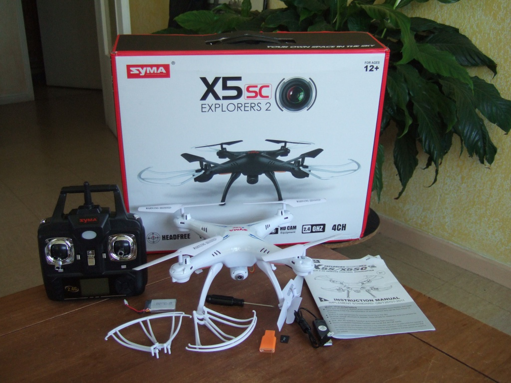 SYMA FLYING DRONE WITH HD CAMERA – BUY
