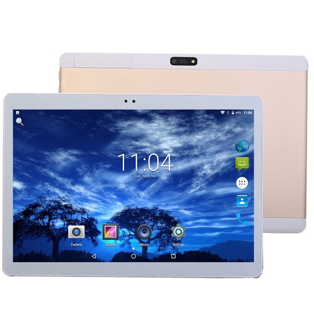 10.1 inch 4G LTE Phone Call Tablets Octa Core Tablet pc Android 8.0 Tablet 8 GB ram+256 GB rom WiFi GPS Dual SIM pc tablet FM GPG