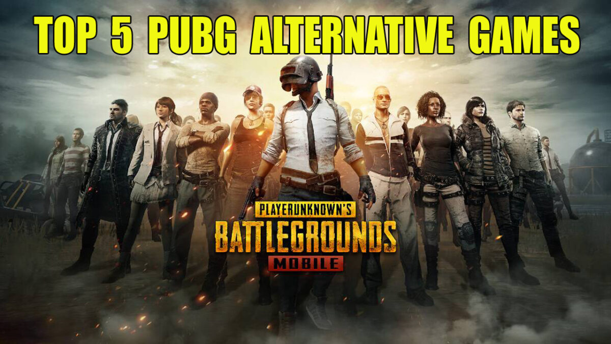 5 Best PUBG Mobile Alternative Games